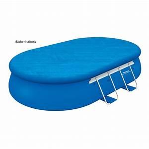 Piscine bestway autoportante ovale 549x366 x h122 cm for Enrouleur bache piscine hors sol ovale 8 piscine bestway autoportante ovale 549x366 x h122 cm