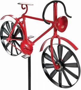 Home Affaire Deko : home affaire deko windrad red bike aus metall otto ~ Watch28wear.com Haus und Dekorationen