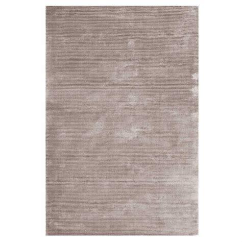 tapis de salon contemporain gris en viscose