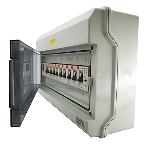 mcb 30ma c32 4p 40a rccb breaker circuit enclosure gprs wifi adjustable control smart brand