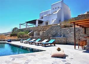 les cyclades location villa mykonos avec piscine privee et With location vacances villa piscine privee 7 location de villas a mykonos vacances dans les cyclades