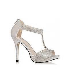 silver shoes boots women debenhams