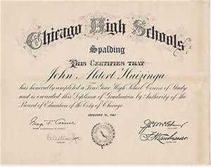 #MISC-0004 - 1947 SPALDING HIGH SCHOOL - CHICAGO ILLINOIS ...