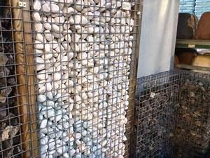 Gabionen Selber Machen : preiswerter sichtschutz aus stein f r ihren garten gabionen selbst aufstellen ~ Whattoseeinmadrid.com Haus und Dekorationen