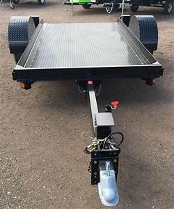 2017 Butler Tilt Flatbed Equipment Transport Trailer 7k