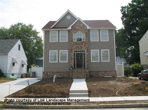 photo of house constructions ideas front yard landscape designs with before and after pictures