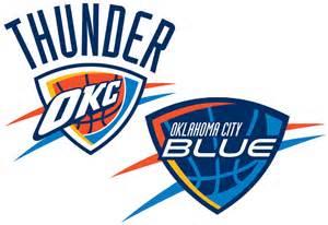 Blue Thunder Logo OKC