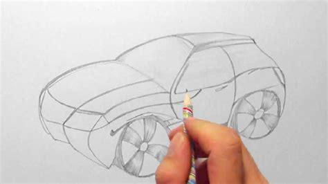 fantasie auto zeichnen im zeitraffer fantasy car
