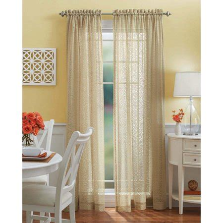 better homes and gardens curtains better homes and gardens lace tailored curtain panel