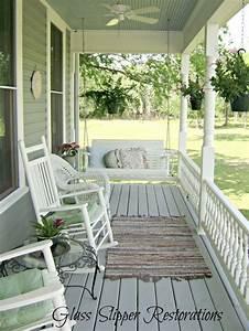 Terrassen Fliesen Streichen : 1900 victorian farmhouse front porch transformation via ~ Lizthompson.info Haus und Dekorationen