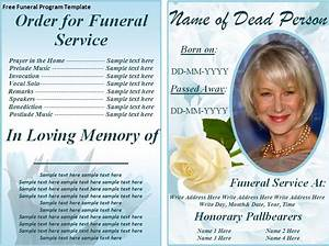 free funeral program templates on the download With funeral leaflet template free