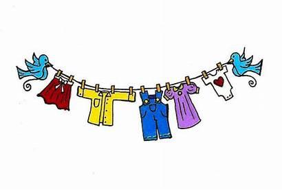 Clothes Line Clipart Clothing Clothesline Clip Socks