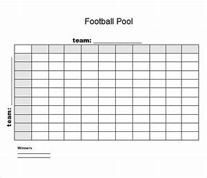 sample football pool 7 documents in pdf word excel With super bowl box template