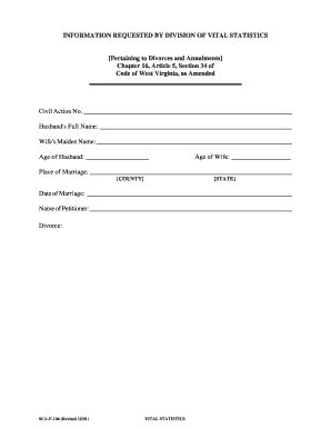 vital statistics form for divorce bill of sale form virginia divorce form templates