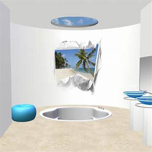 deco salle de bain theme mer With salle de bain jonc de mer
