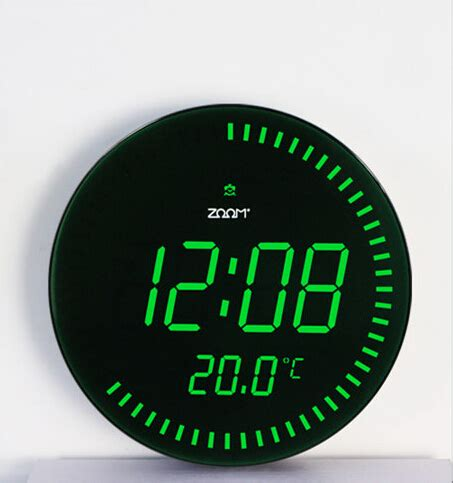 pendule cuisine moderne 3d creative jumbo horloges grande horloge murale numérique