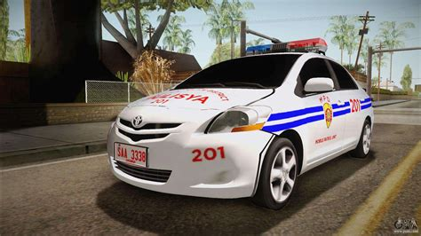 Toyota Vios Philippine Police For Gta San Andreas
