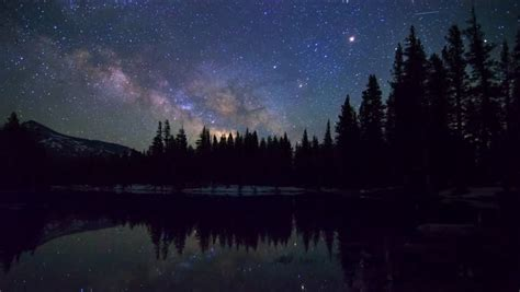 Stock Video Clip Of Astrophotography Time Lapse Of Milky