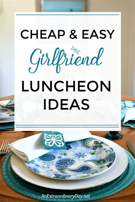 Feel Luncheon by Thoughtful Hospitality On The Cheap Pretty Turquoise
