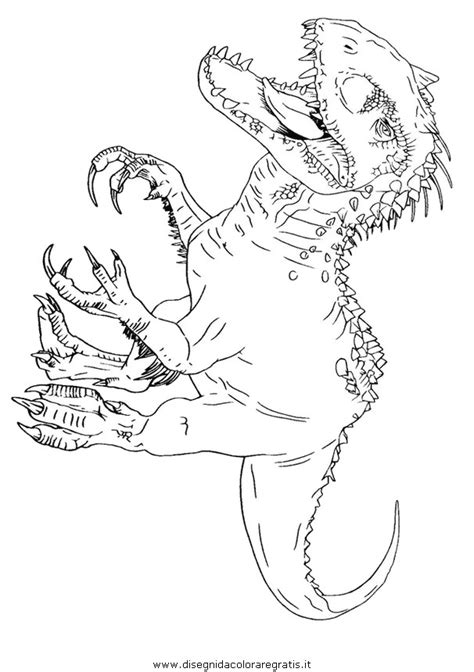 disegni da colorare di jurassic world 2 disegni da colorare e stare mondo dei dinosauri con