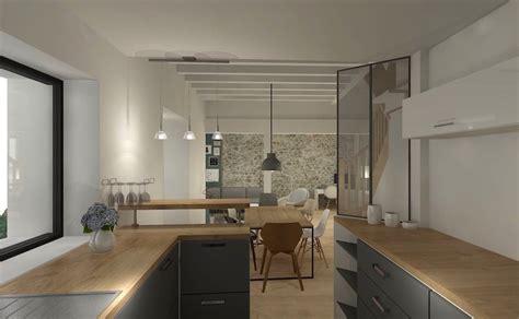 cuisine ouverte ou ferm馥 emejing maison cuisine ouverte verriere ideas design trends 2017 shopmakers us