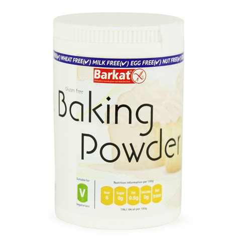is baking powder gluten free baking powder gluten free barkat 100g buy whole foods online ltd