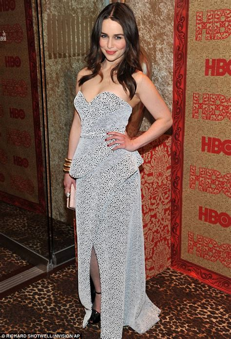 Emilia Clarke Golden Globes