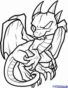 Dragon Coloring Pages | How to Draw an Anthro Baby Dragon ...