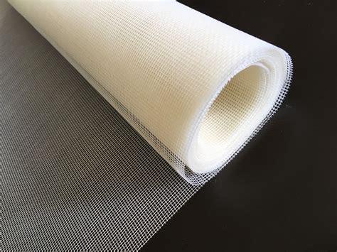 white fiberglass screen mesh  net insect fly bug
