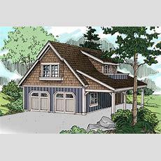 Craftsman House Plans  Garage Wliving 20080