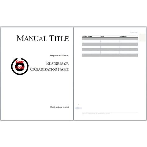 help desk training manual template microsoft word manual template basic and employment
