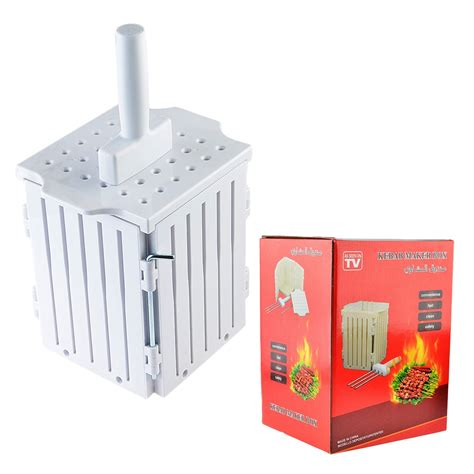 kitchen faucets clearance kebab maker box with stainless steel skewers brochette