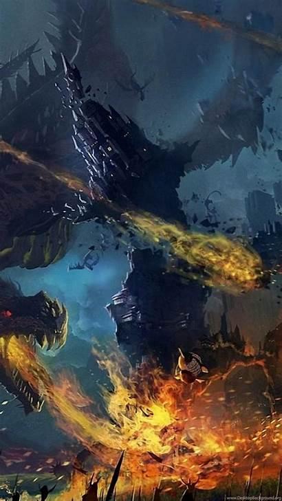 4k Pc Dragon Wallpapers Ultra Desktop Background