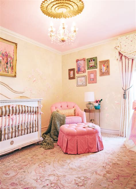 Traditional Nursery By Little Crown Interiors
