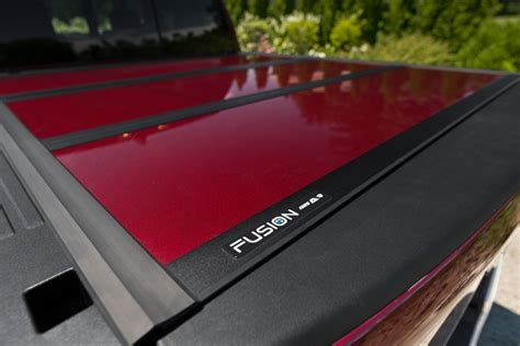 fusion tonneau cover  truck caps truck toppers