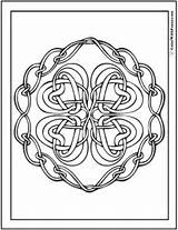 Celtic Knot Chain Knots Designs Coloring Pages Irish Scottish Drawing Pattern Patterns Hearts Colorwithfuzzy Saint Printable Gaelic Quad Wreath Getdrawings sketch template