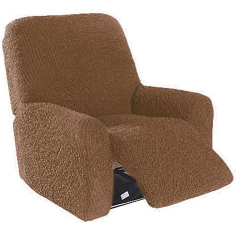 housse canapé relax housse fauteuil de relaxation gaufrée brio choco achat