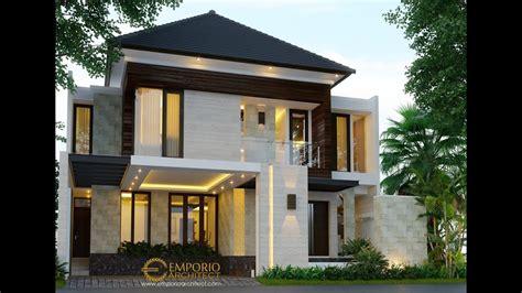 jasa arsitek desain rumah villa bali tropis bapak agon