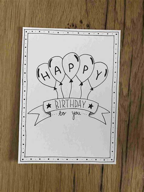 draw  happy birthday card inspiration