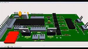 How To Design A Pcb Layout And Circuit Digram On Proteus