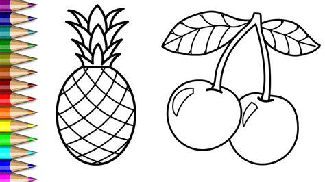 gambar buah buahan kolase