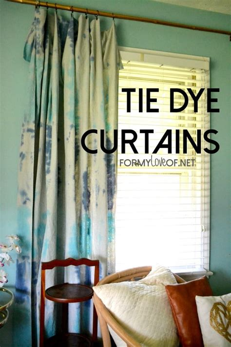 Dying Drapes - 1000 ideas about tie dye curtains on shibori