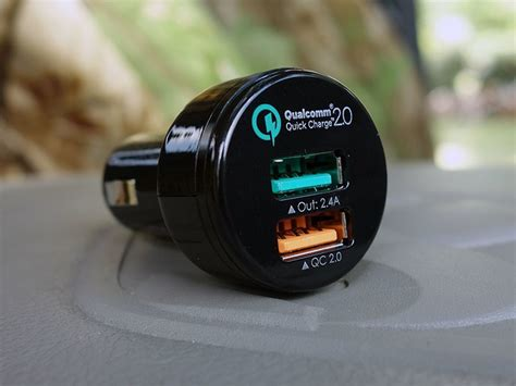 aukeys dual usb turbo car charger rocks quick charge