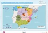 Gummy bears' blog: The autonomous communities of Spain and ...