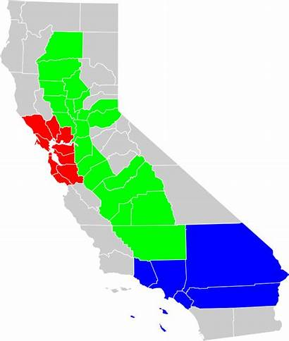 California Map Region Geographical County Svg Geography