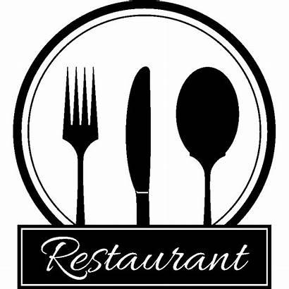 Restaurant Sticker Couverts Cuisine Stickers Ambiance Menu