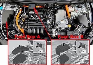 Fuse Box Diagram Honda Insight  2019