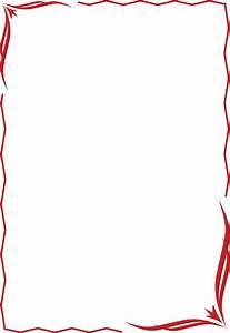 Red Plain Border - ClipArt Best