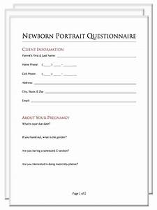 photography client questionnaire packet With wedding photography client questionnaire pdf