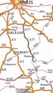 Carte De France Autoroute : autoroute a77 france wikip dia ~ Medecine-chirurgie-esthetiques.com Avis de Voitures